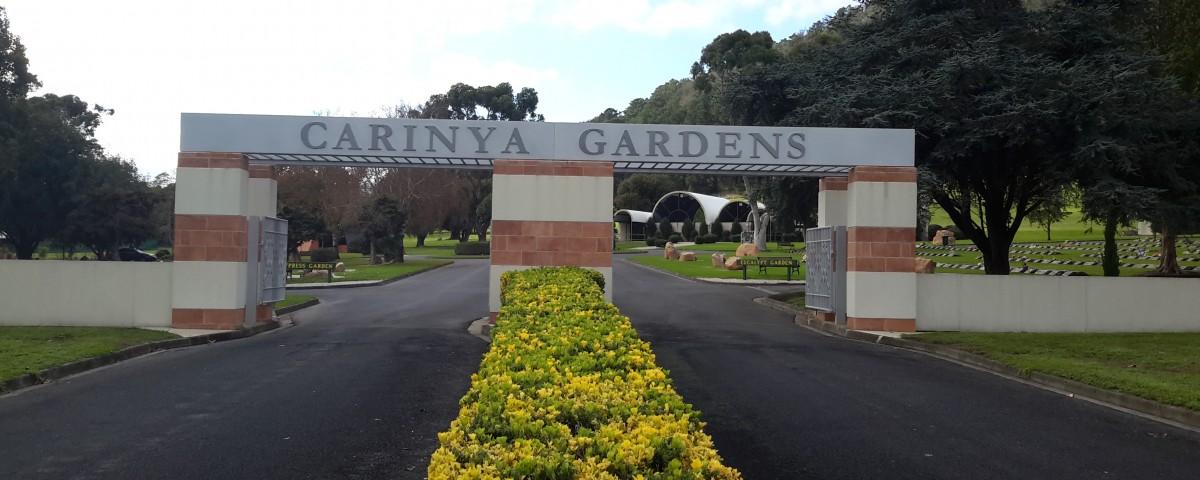 Caryina Garden Signage